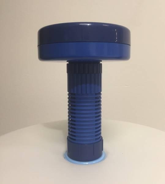 Dispenser for klor/brom tabeletter