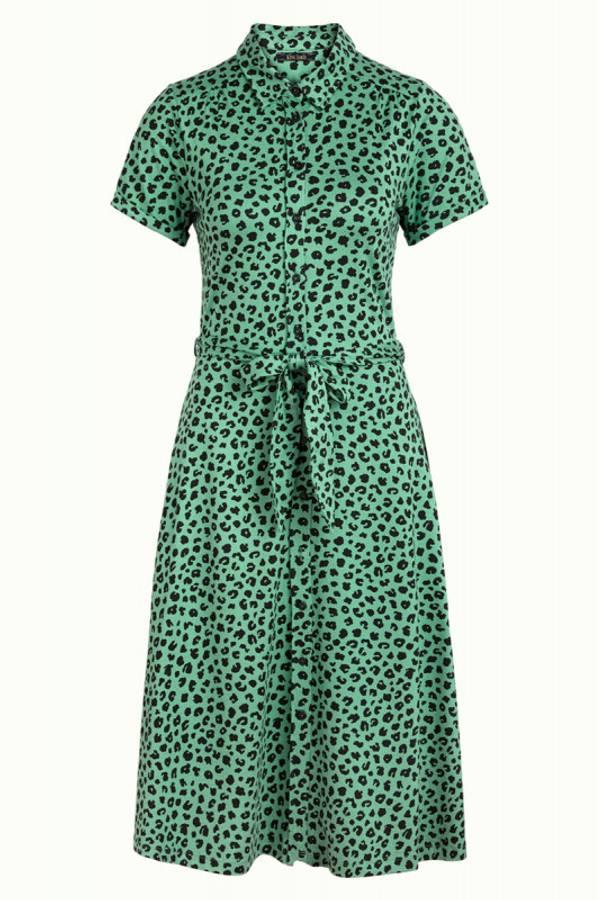 King Louie kjole Olive Bobcat, Grønn