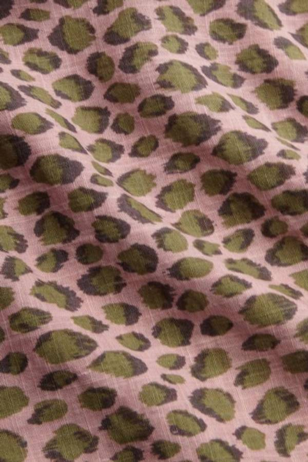 King Louie kjole, Doris Panthera rosa/grønn