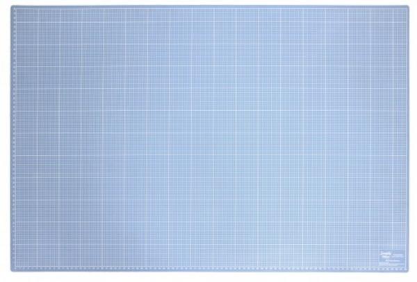 Bilde av SENDES IKKE! Skjærematte 60x90cm, blå/rød