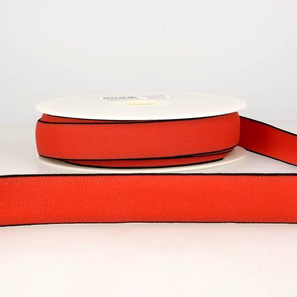 Bilde av Elastisk bånd 2,5cm bredt, rød