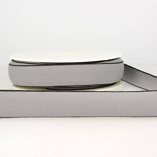 Bilde av Elastisk bånd 2,5cm bredt, grå