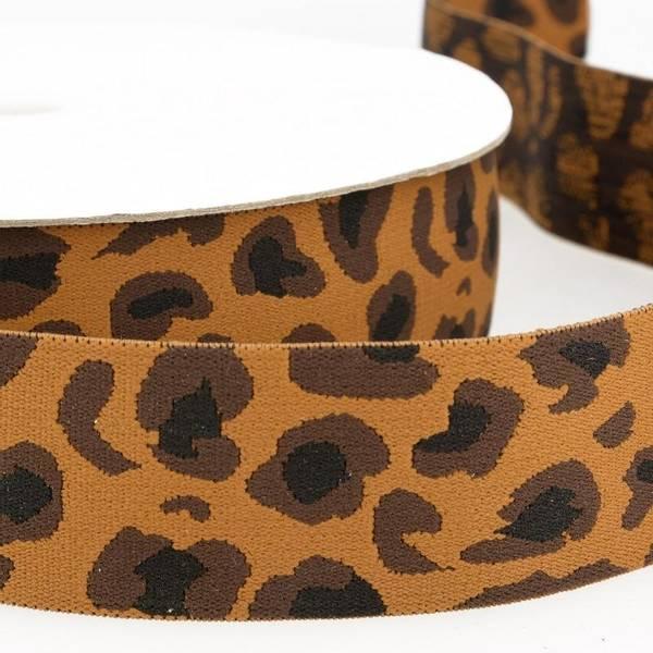Bilde av 4cm boxerstrikk, leopard brun