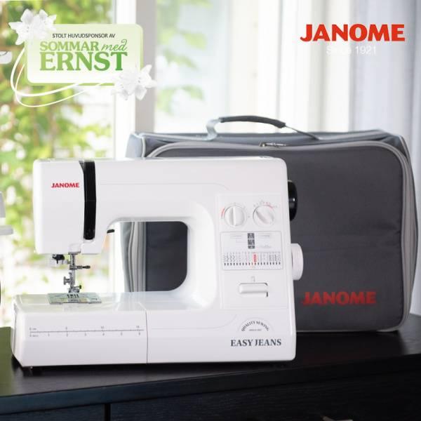 Bilde av Forhåndsbestilling! Janome Easy Jeans 1800 med nytt design!