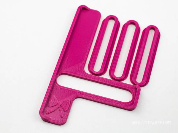 Bilde av Sømguide til covermaskin, rosa