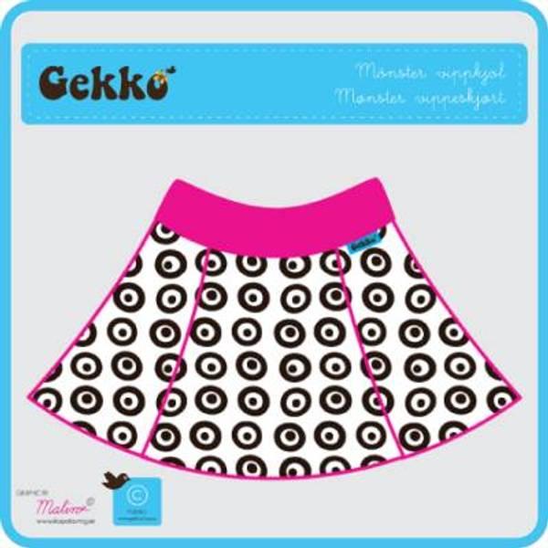 Bilde av Gekko vippskjørtmønster