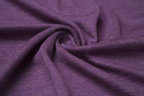 Bilde av Økologisk ull/silke, lilla