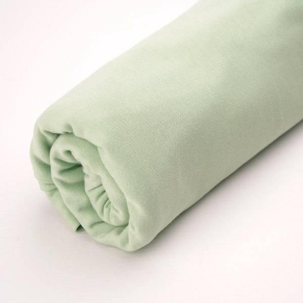 Bilde av Økologisk ribb, pastellgrønn