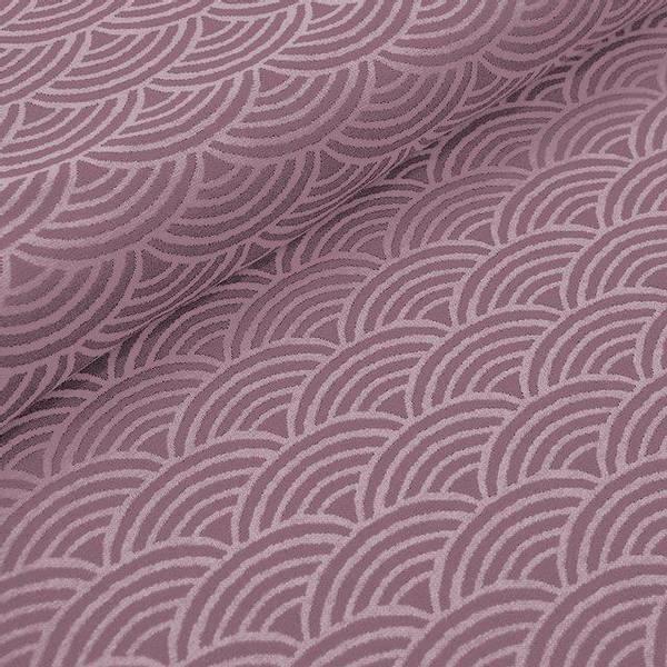 Bilde av Økologisk bomullsjacquard, regnbue rose
