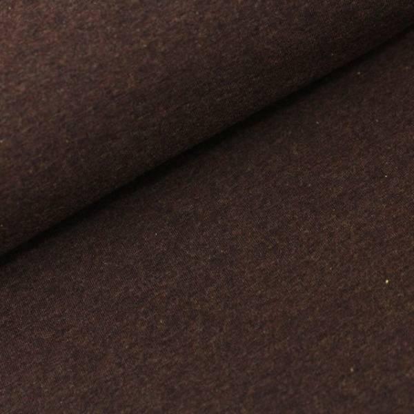 Bilde av Økologisk french terry, kuba (brunmelert)