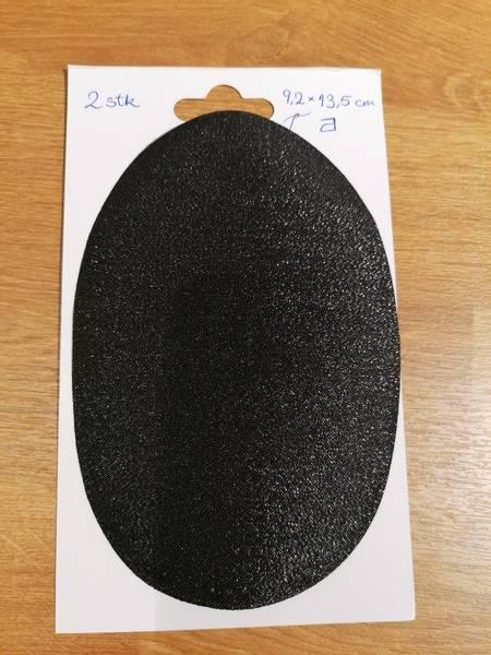 Bilde av Strykemerker 2stk svart,11,5x8,5cm