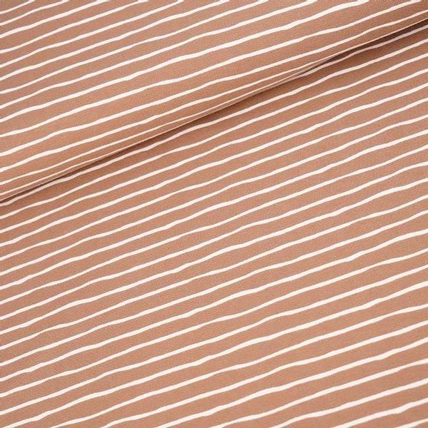 Bilde av Økologisk jersey, good vibes, taupe
