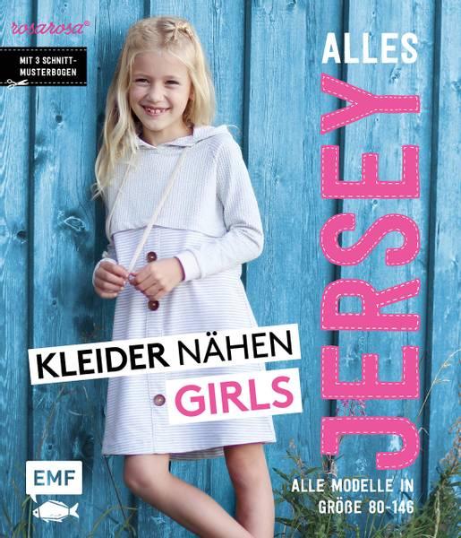 Bilde av Mønsterbok, Alles jersey, Kleider nähen girls