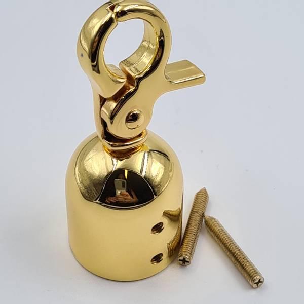 Bilde av tassel-holder, gullfarget
