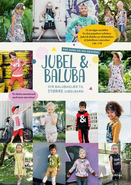 Bilde av Mønsterhefte: Jubel & Baluba syr Balubaklær til større