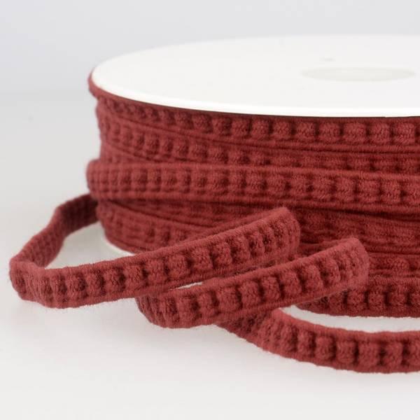 Bilde av Elastisk flettebånd, burgunderrød