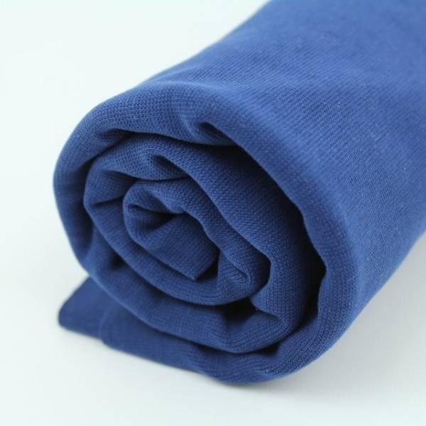 Bilde av Økologisk ribb, marineblå