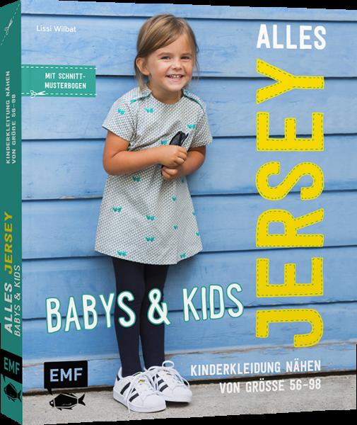 Bilde av Mønsterbok, Alles Jersey, Babys & Kids