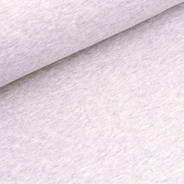 Bilde av Økologisk jersey, nevis (lys gråmelert)