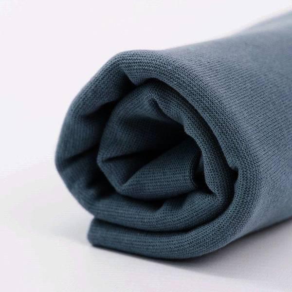 Bilde av Økologisk ribb, mørk grå