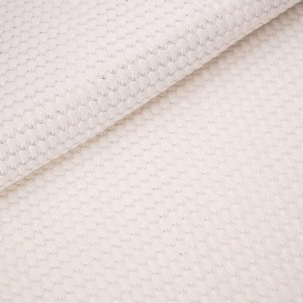 Bilde av Økologisk bomullsstrikk, bubbles offwhite