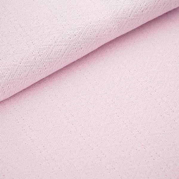 Bilde av Økologisk bomullsstrikk, ruter sart rosa
