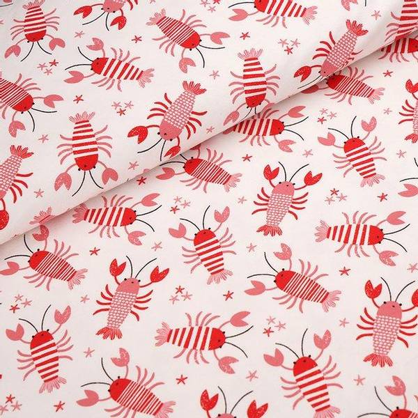 Bilde av Økologisk jersey, hummer rød