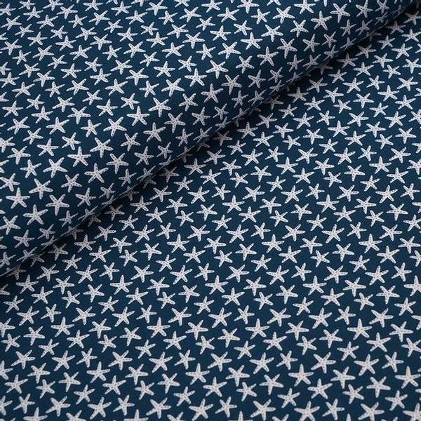 Bilde av Økologisk jersey, sjøstjerne blå