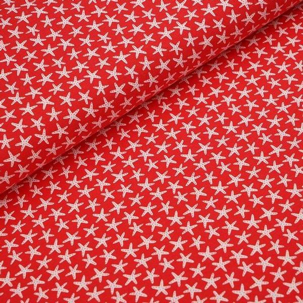 Bilde av Økologisk jersey, sjøstjerne rød