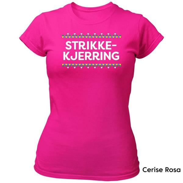 Bilde av Strikkekjerring HVIT trykk - T-skjorte Dame