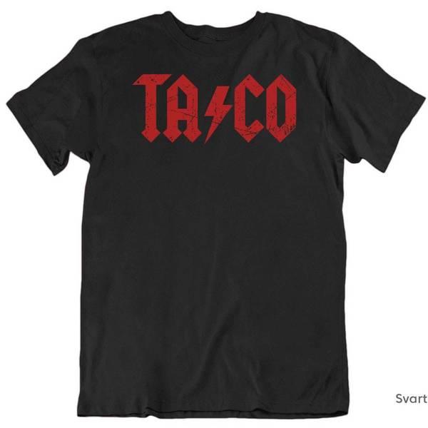 Bilde av Taco AC/DC T-skjorte