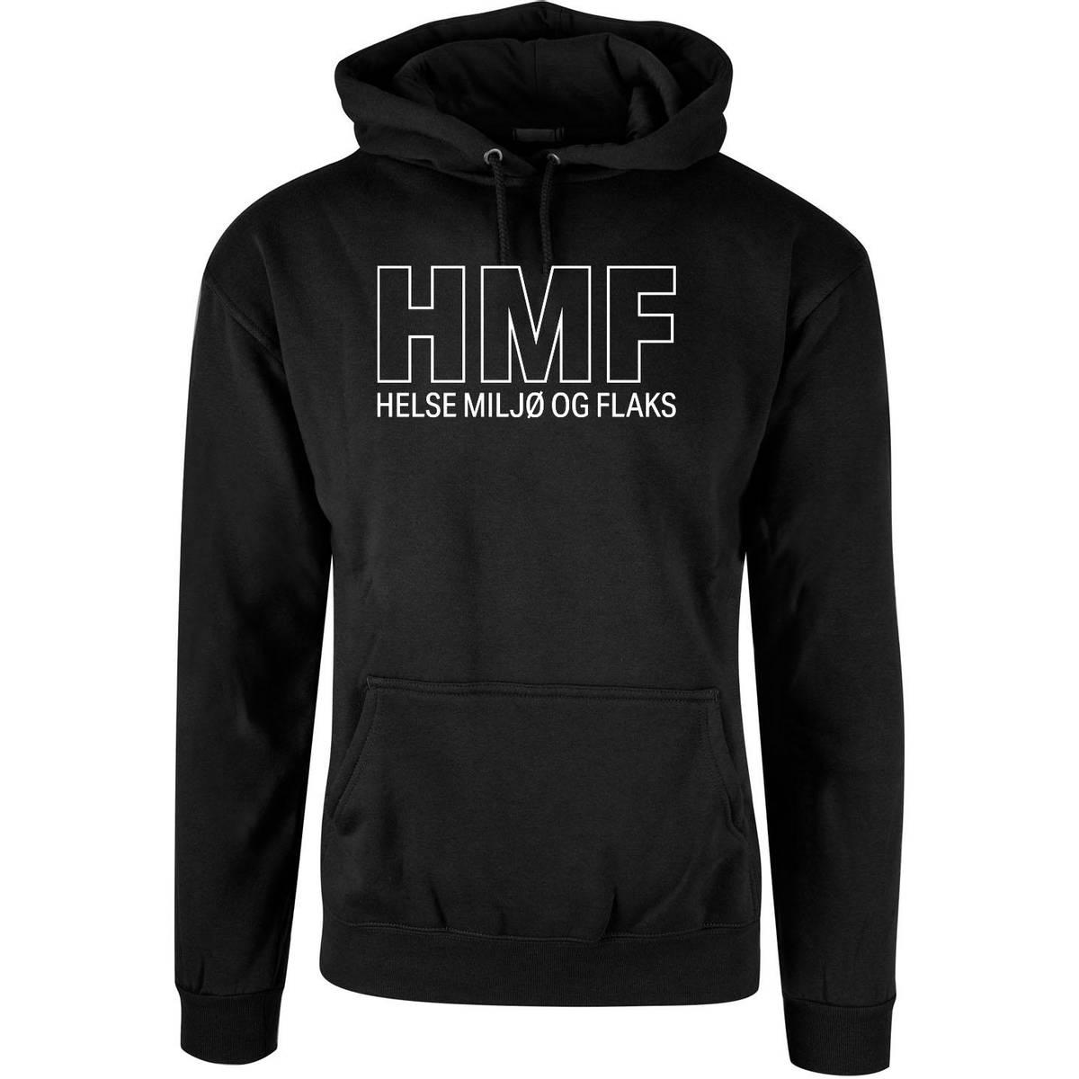 HMF - Helse Miljø og Flaks Hettegenser