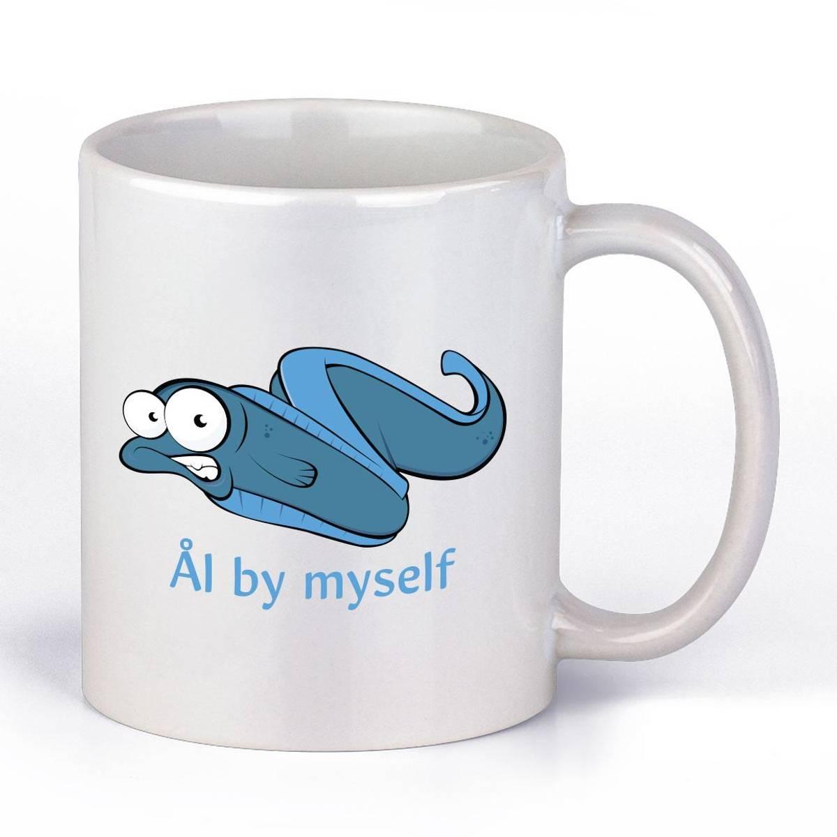 Ål By Myself Kaffekopp