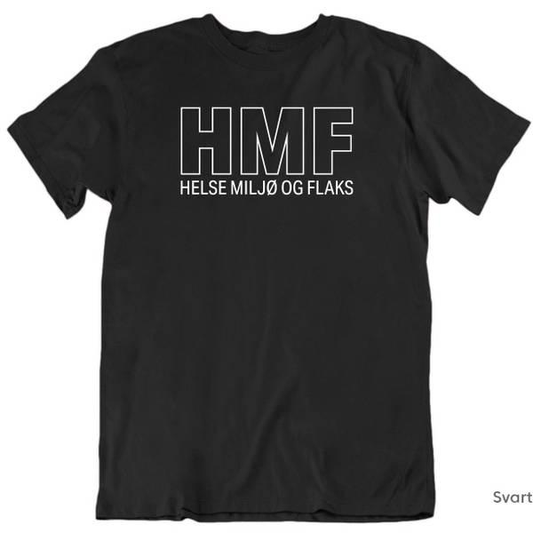 Bilde av HMF Helse Miljø og Flaks T-skjorte