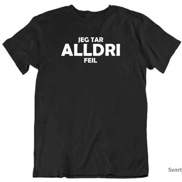 Bilde av ALLDRI T-skjorte