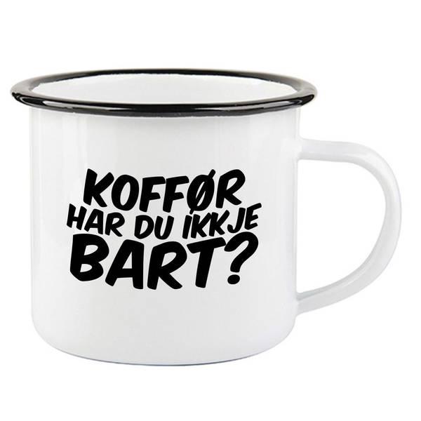 Bilde av Bart Emaljekopp med Sort Kant