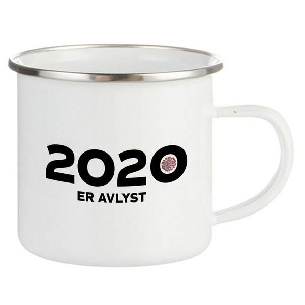 Bilde av 2020 er Avlyst Emaljekopp