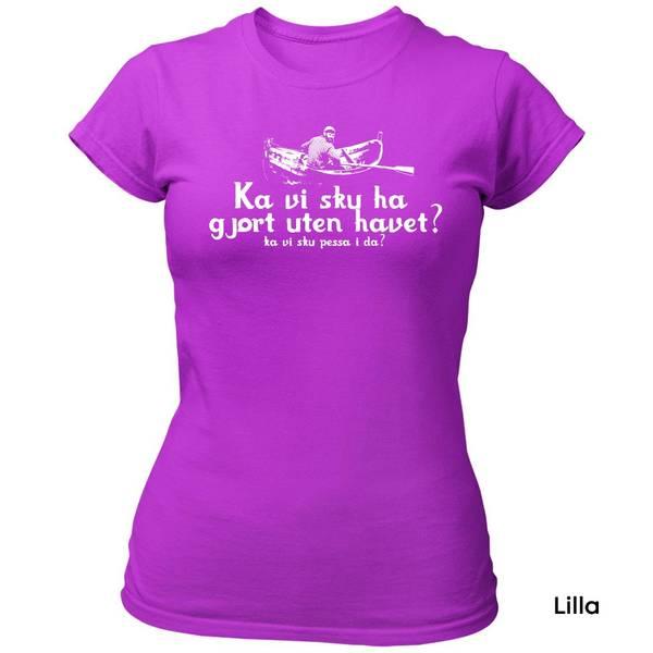 Bilde av Havet Pessa T-skjorte Dame