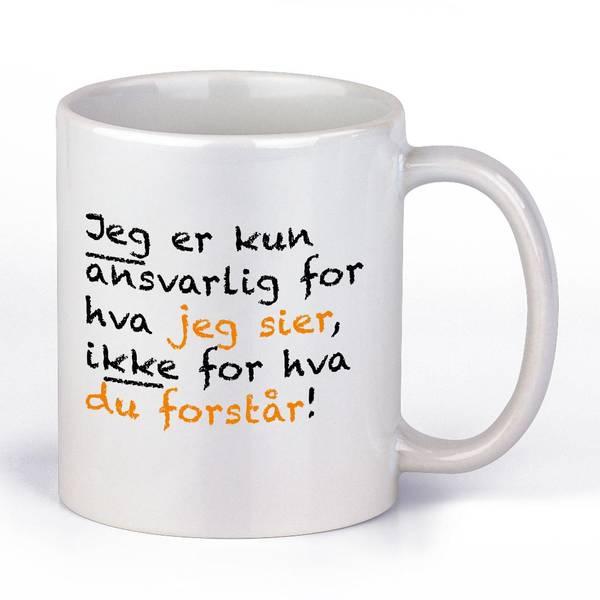 Bilde av Ansvarlig Kaffekopp