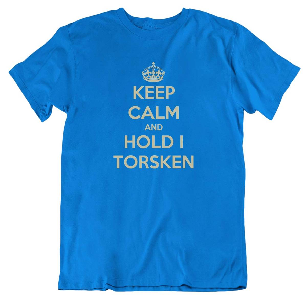 Keep Calm Torsken T-skjorte