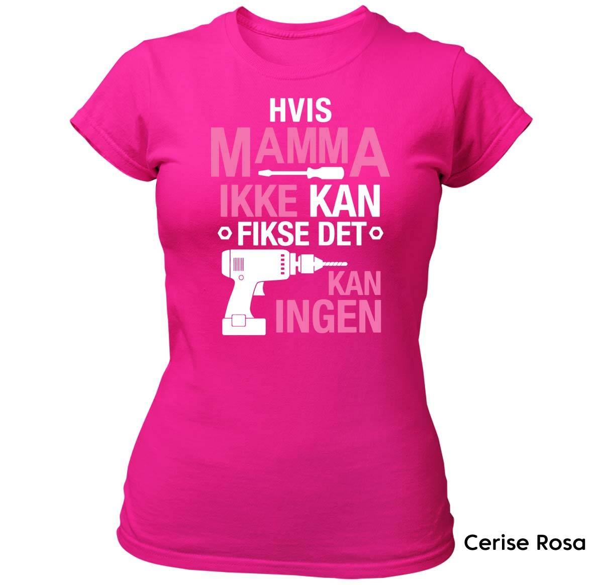 Mamma Fikse T-skjorte DAME