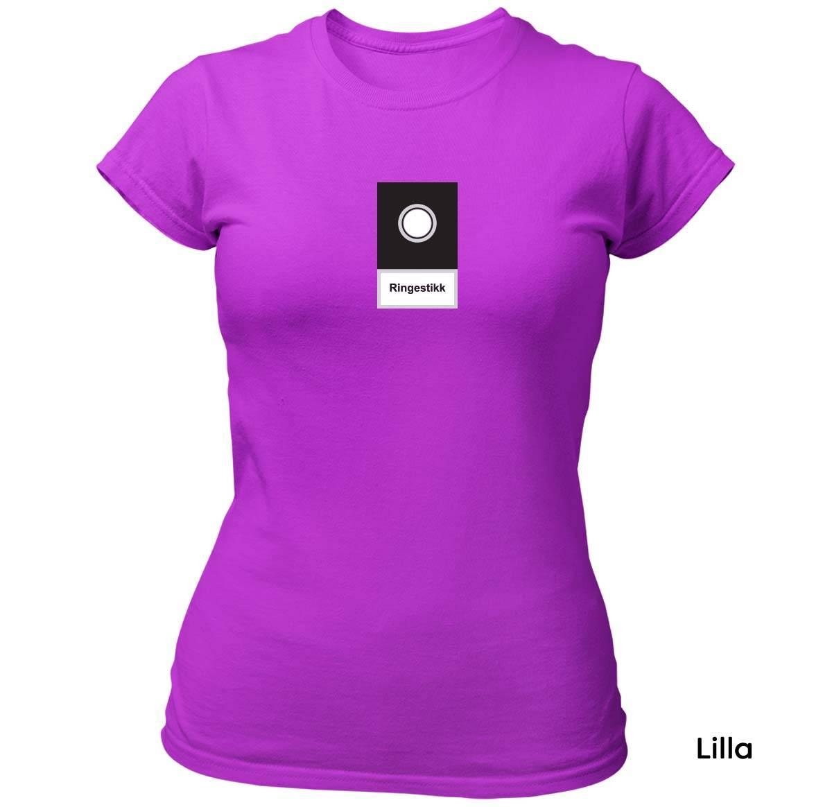 Ringestikk T-skjorte Dame