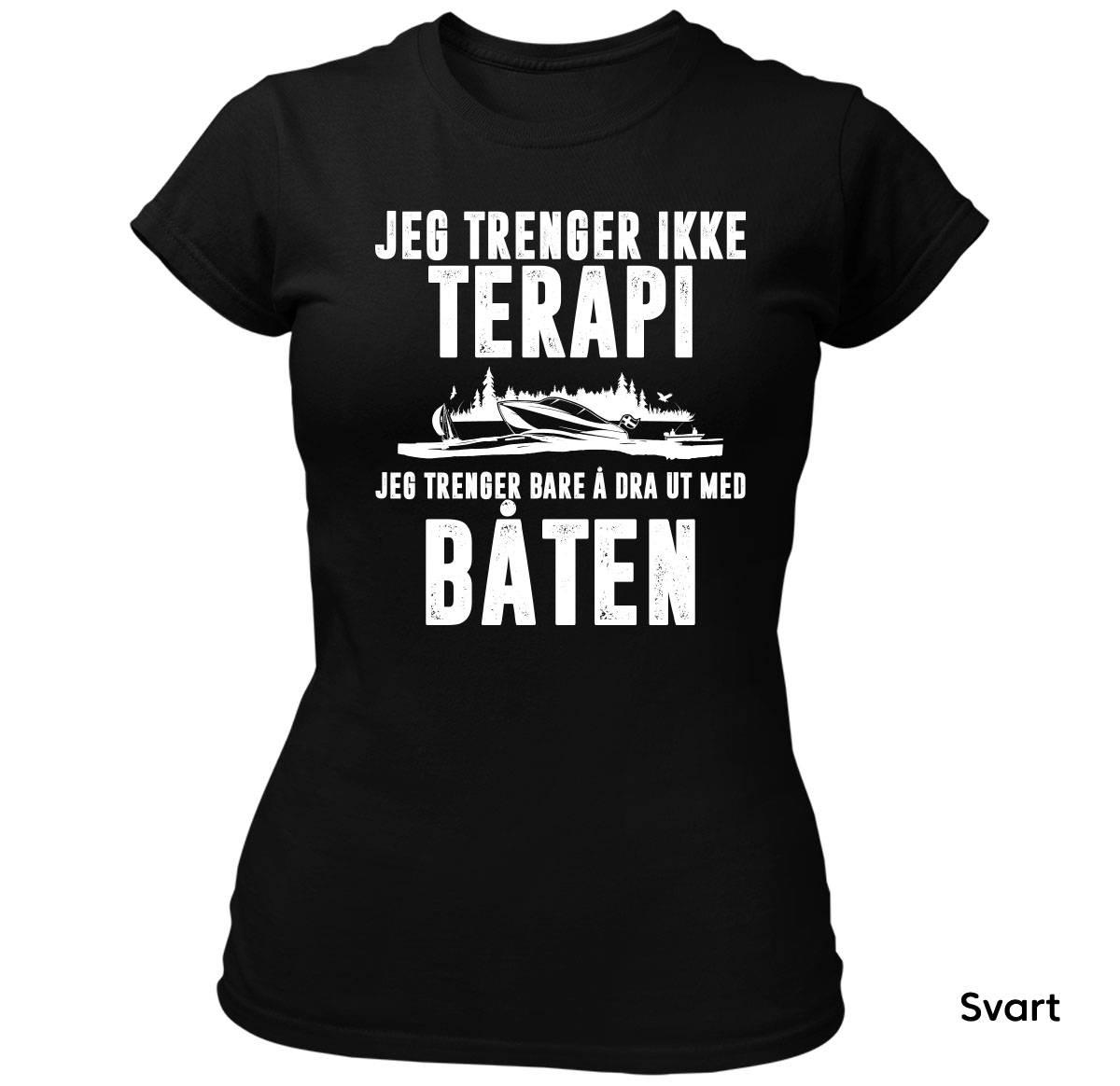 Terapi Båten T-skjorte Dame