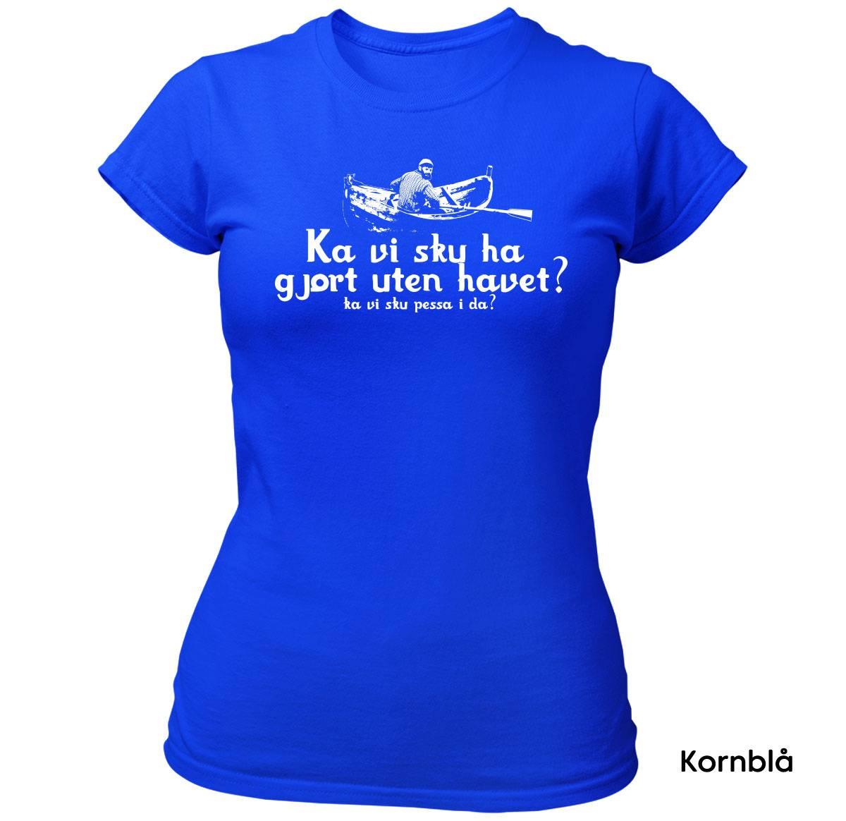Havet Pessa T-skjorte Dame