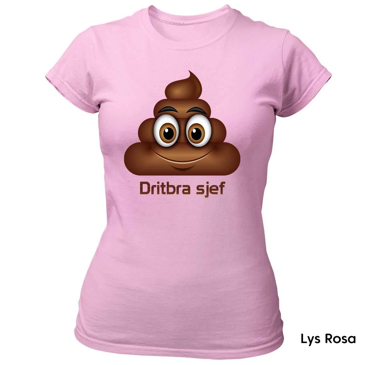Dritbra Sjef T-skjorte Dame