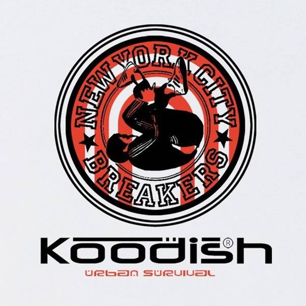 Koodish T-skjorte - NYC Breakers