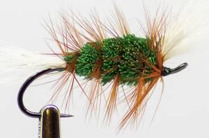 Bilde av Bomber Green Tørrflue #6