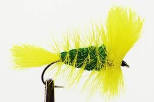 Bilde av Bomber Emerald Green Tørrflue #6