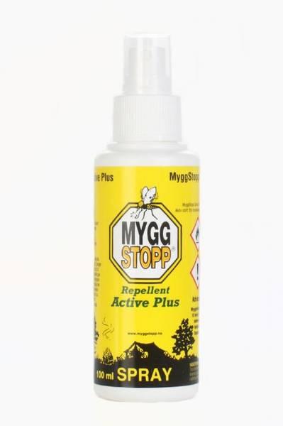 MyggStopp Spray Active Pluss