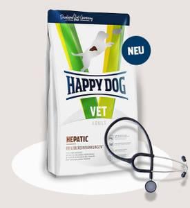 Bilde av Happy Dog Vet Hepatic (Lever problemer) 4Kg